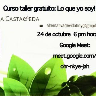 Curso Taller Gratuito: Sábado 24 de Octubre
