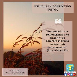 3 de septiembre - Escucha la corrección divina - Una Nueva Versión de Ti 2.0 - Devocional de Jóvenes