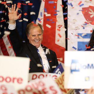 Doug Jones Beats Roy Moore and DJ Trump