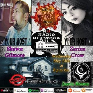 Special Guest Paranormal Investigator and Producer Justin Brown