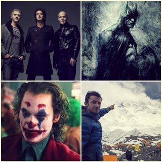Kilian Jornet, Joker, Soda Stereo, Batman/Bruce Wayne.
