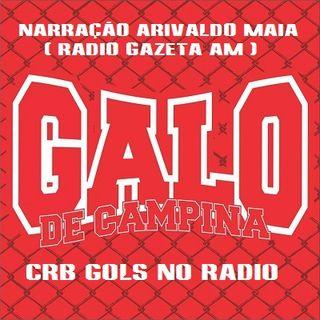 CRB 3 x 2 Santa Cruz - Narração Arivaldo Maia (Radio Gazeta AM) - Série B 2015