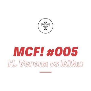 MCF! 005 - Verona vs Milan