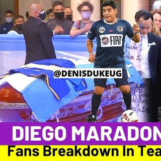 Murió Diego Armando Maradona -  Diego Armando Maradona é morto 25 Novembre 2020 @San Ten Chan