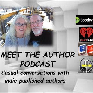 MEET THE AUTHOR Podcast - EPISODE 1 MEET CINDY DAVIS & RICK PALMACCI