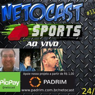 NETOCAST 1171 DE 24/07/2019 - ESPORTES - FUTEBOL - WNBA - BASQUETE FEMININO - NFL
