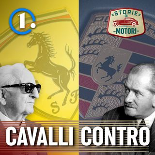 2 - Ferrari e Porsche, il cavallo nel logo è proprio lo stesso?