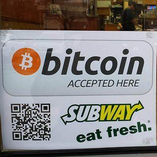 Worlds 1st Bitcoin Sandwich Store