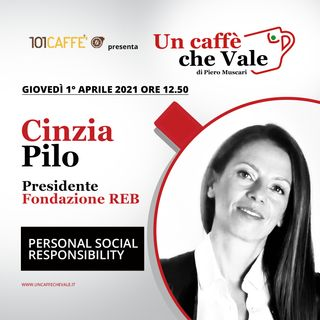 Cinzia Pilo: Personal social responsibility