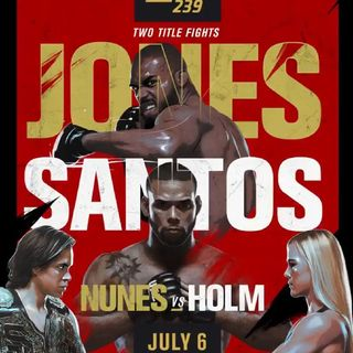 Preview Of The Huge UFC 239 PPV Headlined By Jon Jones-Thiago Santos For The UFC Light-Heavyweight Title On ESPN In America And BT Box Offic