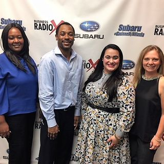 Natasha Lisin with Smile Creations Dental, Ashley Lail with Benco Dental, and Vonya & Kareem Hodrick with WellSource Integrative Health Solu