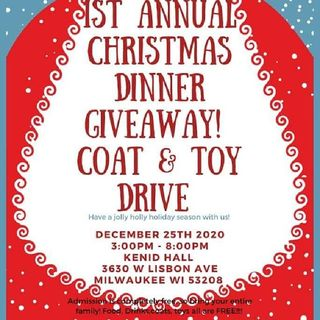 Live From Tashan Curry's Feed The Needy Coat Toy Giveaway 3630 W. Lisbon Right Now