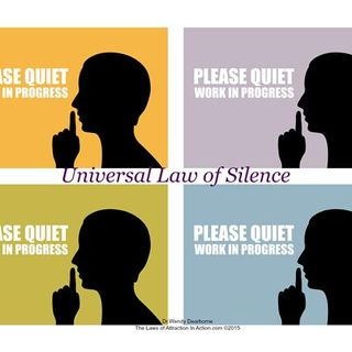 Is Not Keeping Silent A Bad Thing For The Law of Attraction?