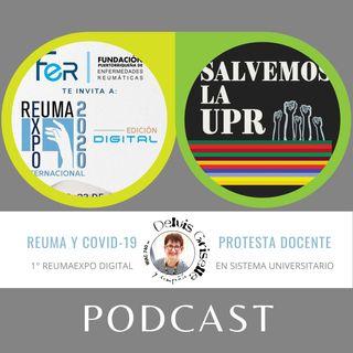 ReumaExpo digital y protesta docentes en la UPR