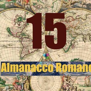 Almanacco romano - 15 novembre