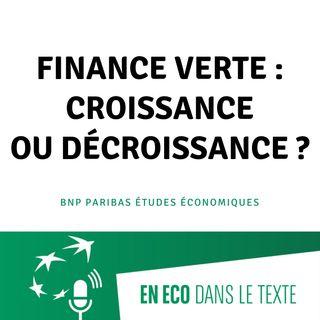 #02 - Finance verte : croissance ou décroissance ?