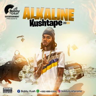 BOBBY KUSH ENT PRESENTS THE BEST OF ALKALINE KUSHTAPE / +592-689-5300