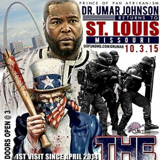 Dr. Umar Johnson Speaking in St. Louis