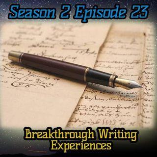 Ep. 68 Break Through Writing Experiences