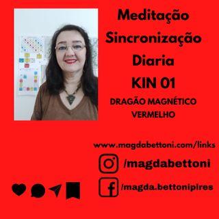 Meditação Sincronização diária  Kin 01