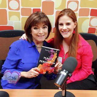 """Pamela Jean nos presenta su nuevo libro """"La Magia de la Persuación""""."""