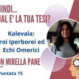 PUNTATA 15. Mirella Pane, esperta in Marketing e Comunicazione, Firenze