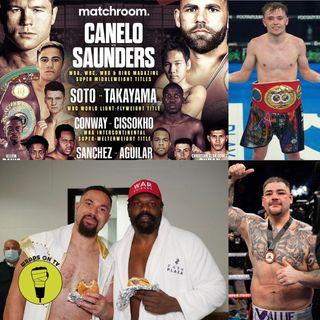 Canelo v Saunders off?!?!? Parker beats Chisora