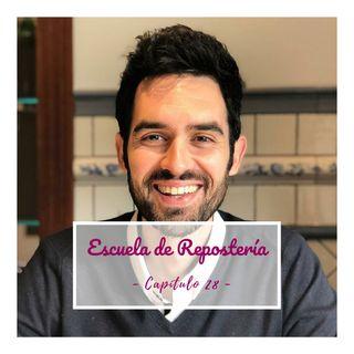 28. ENTREVISTA: Repostería saludable, con Carlos Ferrando.