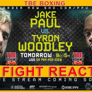 JAKE PAUL VS TYRON WOODLEY: THE BATTLE FOR LEGITIMACY ON THE ROAD FROM CLOWN TO CONTENDER!