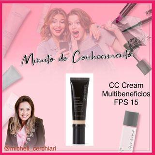 CC Cream Hidratante Tonalizante Multibenefício FPS 15