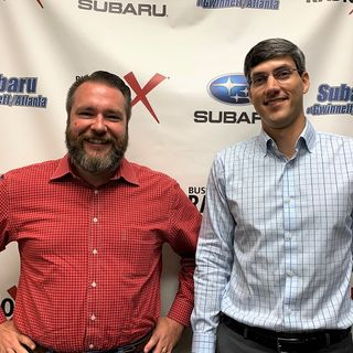 Michael Zelickson with Regions Bank and Seth Elrod with Platinum Cargo Logistics