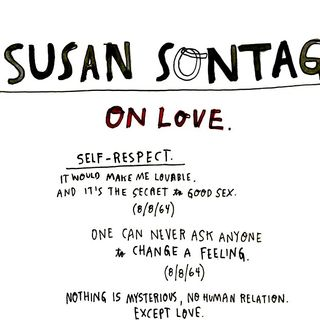 manifesto/sontag on love