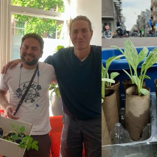 Farmsterdammers interview | sharing seedlings across the city