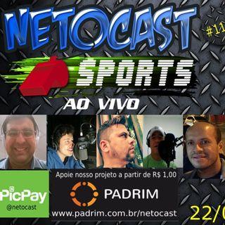 NETOCAST 1153 DE 22/05/2019 - ESPORTES - F1 - FUTEBOL - NBA - TÊNIS - UFC - KSW - ONE