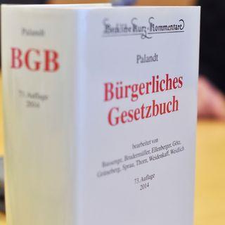Der Reichstag verabschiedet das BGB (01.07.1896)