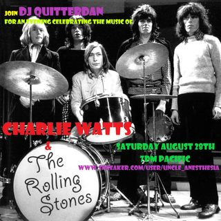 A Tribute to Charlie Watts and The Rolling Stones
