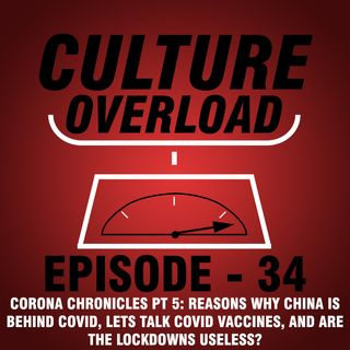 EP 34 - Reasons Why China Is Behind COVID, Lets Talk COVID Vaccines, and Are the Lockdowns Useless? (Corona Chronicles PT 5)