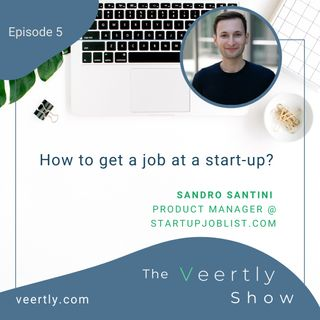 How to get a job at a start-up