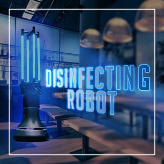 Disinfecting Robot For Restaurants | Ava Robotics Autonomous UV-C Light