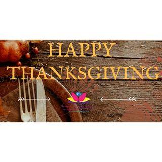 Happy Thanksgiving from Veronda Bellamy Inspired