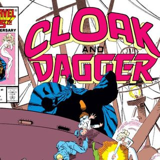 Source Material #167 Cloak And Dagger Comics (Marvel, 1985)