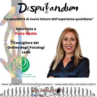 Paola Medde, consigliere Ordine Psicologi Lazio. Sostegno psicologico al tempo del Coronavirus