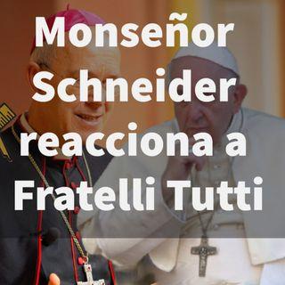 Episodio 368: 😲 Monseñor Schneider reacciona a Fratelli Tutti 👏 ¿Catolicismo y Masonería? 🤫
