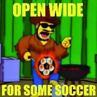 EPISODE 106: OPEN WIDE FOR SOME SOCCER