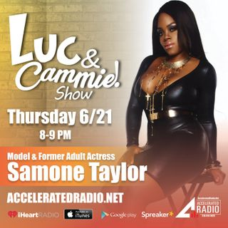 Accelerated Radio - Samone Taylor, The Media Prince, Tiaundra - 6.21.18