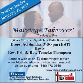 """""""Marriage Takeover: The Body Of One""""With Rev. Eric and Rev. Temeka Thompson"""