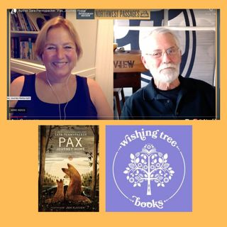 """Author Sara Pennypacker in conversation with Chris Crutcher about """" Pax, Journey Home"""""""