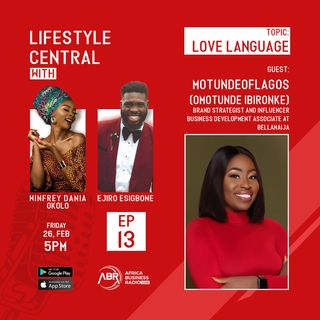 Love Language - Motunde of Lagos