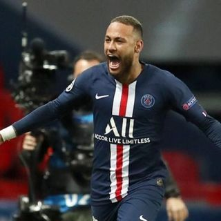 Neymar rompe en llanto en victoria del PSG en Champions
