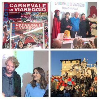Carnevale di Viareggio le interviste di Francesco D'Alessandro!